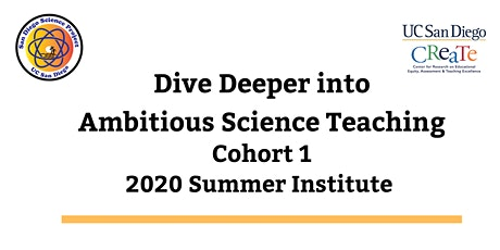 Dive Deeper into Ambitious Science Teaching Summer Institute 2020 tickets