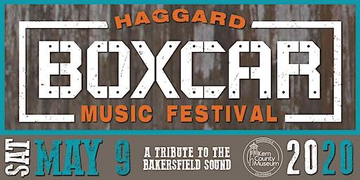 Haggard Boxcar Music Festival 2020