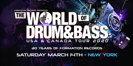 The World of Drum and Bass Tour 2020 NYC tickets