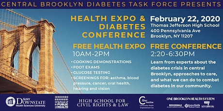 Community Health Expo and Free Diabetes Conference tickets
