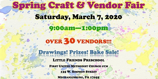 Spring Craft & Vendor Show - Little Friends Preschool
