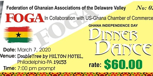 63rd Ghana Independence Day Dinner Dance - FOGA