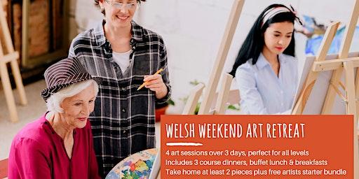 Welsh Art Retreat Weekend