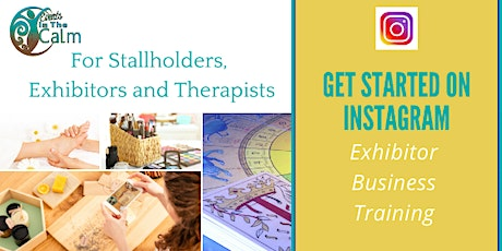 Get Started On Instagram. For Stallholders, Exhibitors and Therapists tickets
