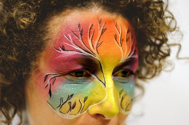 Immagine Corso di face painting - livello intermedio - Rocket Brush - Kolorami