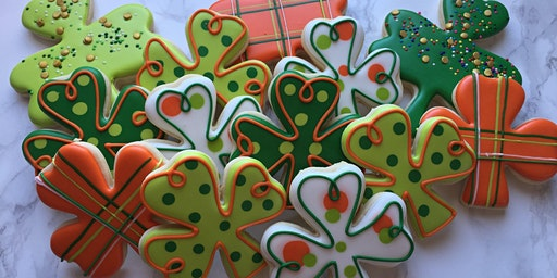 St. Patrick's Themed Cookie Class