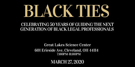 CWRU Black Law Students Assocation: Black Ties Gala tickets