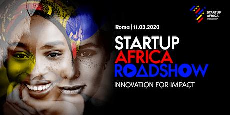 STARTUP AFRICA ROADSHOW - Roma biglietti
