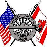 The Niagara Frontier Region (NFR) of the NMRA logo