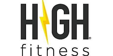 Athleta High Fitness class tickets