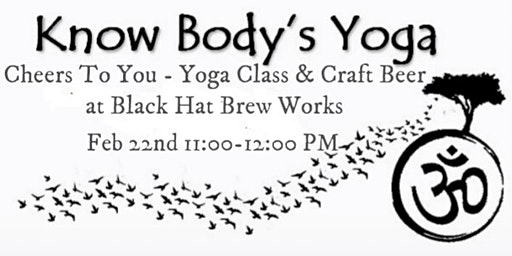 Cheers to You - Yoga Class & Craft Beer