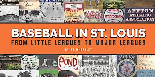 """Baseball in St. Louis"" sports history presentation"