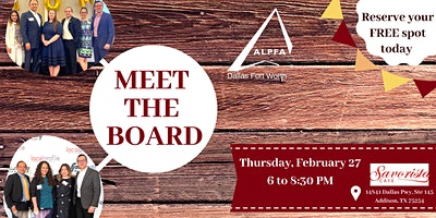 ALPFA DFW Meet the Board Mixer