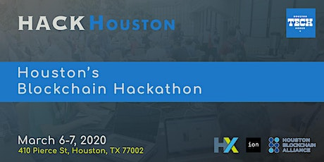 HackHouston - The Blockchain Hackathon tickets