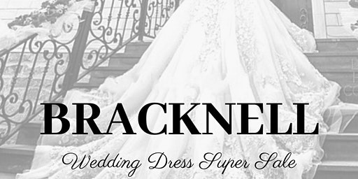 BRACKNELL WEDDING DRESS SUPER SALE