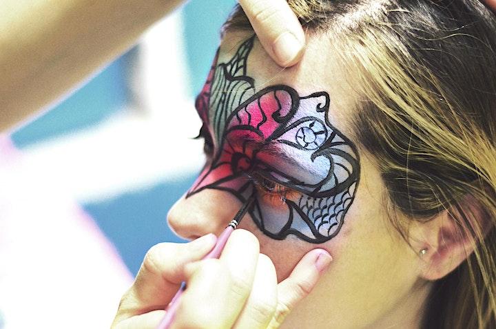 Immagine Corso di face painting - livello avanzato - Artist Brush - Kolorami