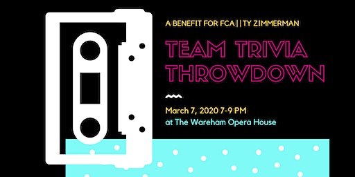 Team Trivia Throwndown (to benefit FCA of Greater Manhattan/JC)