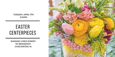 DIY Easter Centerpieces at Running Vines