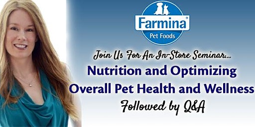 Nutrition and Optimizing Overall  Pet Health & Wellness with Dr. Amy Baker