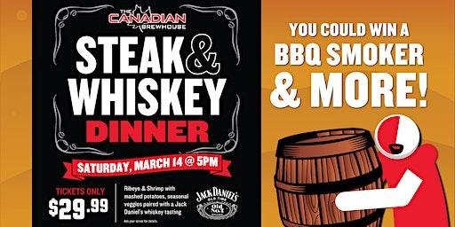 Steak & Whiskey Dinner