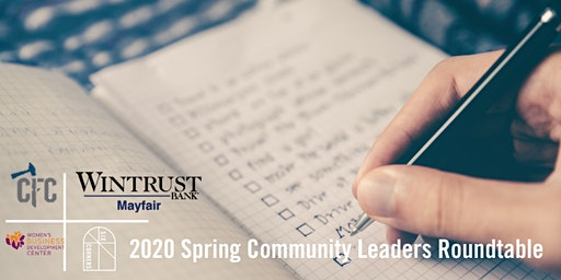 2020 Spring Community Leaders Roundtable