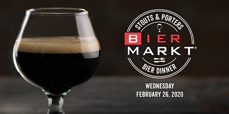 Bier Markt Esplanade Stouts & Porters Beer Dinner tickets