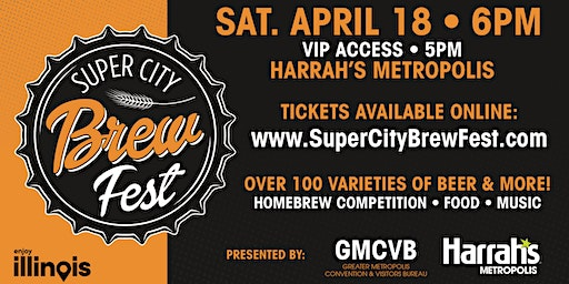 2nd Annual Super City Brew Fest