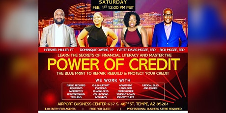 Phoenix Power Of Credit Meetup tickets