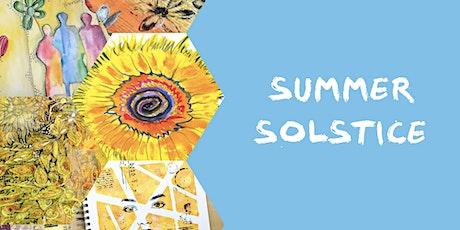 Art Journaling: Summer Solstice tickets