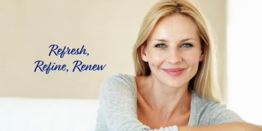 """Refresh, Refine, Renew"" EmbraceRF | FaceTite Event"