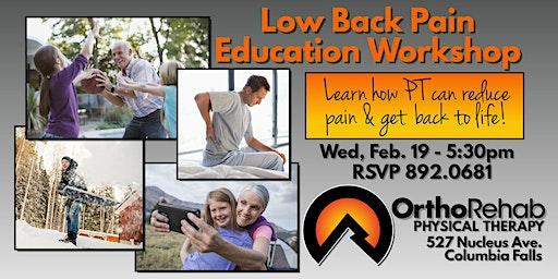 Low Back Pain Education Workshop
