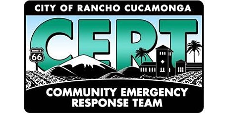 CERT Basic Training (Community Emergency Response Team) tickets
