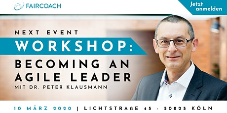 Workshop: Becoming an Agile Leader Tickets