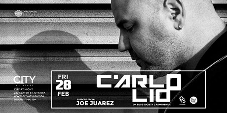 Carlo Lio at City At Night tickets