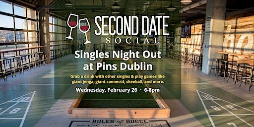 Singles Night Out at Pins Dublin
