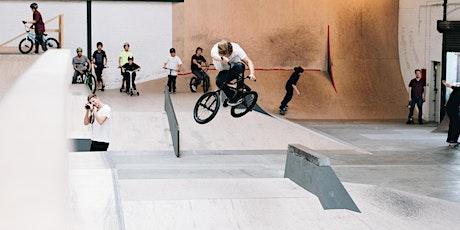 Kindergeburtstag im Gleis D (BMX oder Skateboard) Tickets