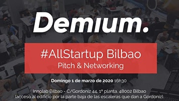 Pitch & Network #AllStartup Bilbao