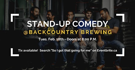 So I Got That Going For Me - Stand Up Comedy tickets