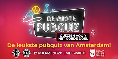 De Grote Pubquiz in Amsterdam - Quizzen voor het Goede Doel 2020 tickets