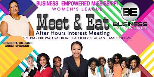 Meet & Eat After Hours  Interest Meeting