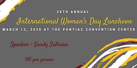 28th Anniversary International Women's Day Luncheon - Zonta Club of Janesville tickets
