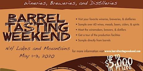 Barrel Tasting Weekend, 2020 tickets