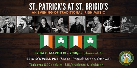 St. Patrick's at St. Brigid's: An Evening of Traditional Irish Music tickets