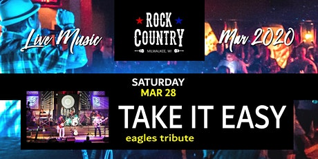 Take It Easy (Eagles Tribute) at Rock Country! tickets