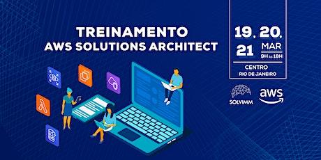 Treinamento AWS - Solutions Architect - Associate Level ingressos