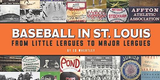 """Baseball in St. Louis"" Sports History Talk"