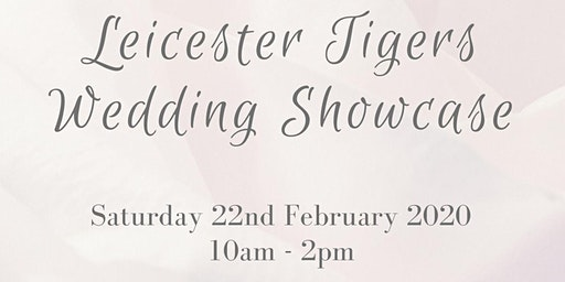 Leicester Tigers Wedding Showcase