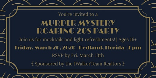 Roaring 20's party