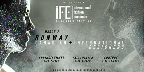 International Fashion Encounter 10th Edition tickets