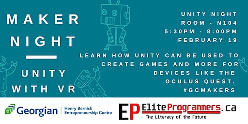 Maker Night: Unity and VR